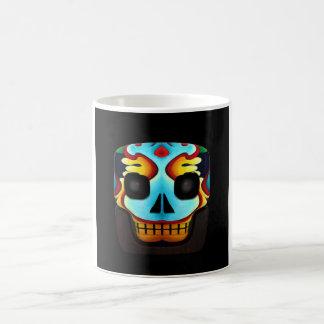 ブロックのスカル コーヒーマグカップ
