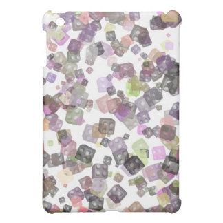 ブロックのデザインのiPadの貝 iPad Mini Case