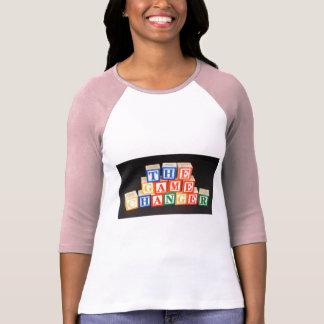 """ブロックの手紙の""""ベビー"""" Tシャツ"""