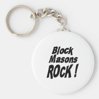 ブロックの石大工の石! Keychain キーホルダー