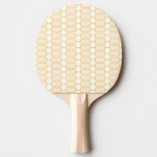 ブロックを縞で飾ります 卓球ラケット