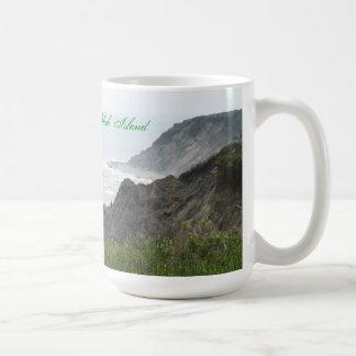 ブロック島のコーヒー・マグ コーヒーマグカップ