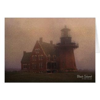 ブロック島の灯台 カード