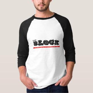 ブロック3/4ジャージー Tシャツ