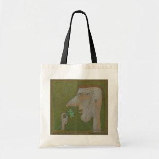 ブロッコリーのトートを持つ男の子 トートバッグ