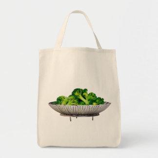ブロッコリーの食料雑貨の戦闘状況表示板 トートバッグ