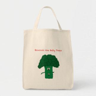 ブロッコリーは赤ん坊の木です トートバッグ