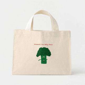 ブロッコリーは赤ん坊の木です ミニトートバッグ