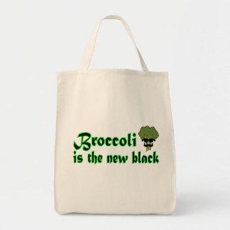 ブロッコリー-ビーガンの菜食主義の食料雑貨の戦闘状況表示板 トートバッグ