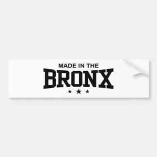ブロンクスで作られる バンパーステッカー