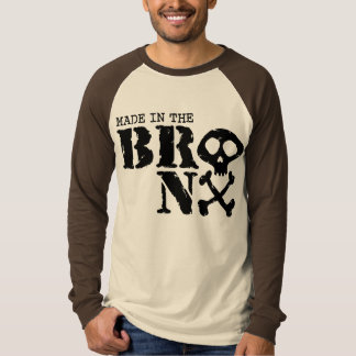 ブロンクスで作られる Tシャツ