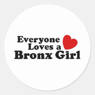 ブロンクスの女の子 ラウンドシール