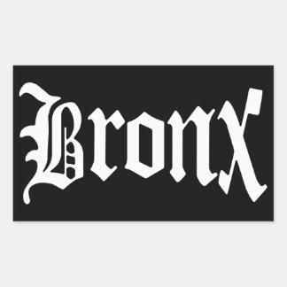 ブロンクスニューヨークのヴィンテージのゴシック様式ステッカー 長方形シール