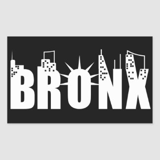 ブロンクス夜 長方形シール