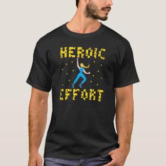 ブロンドのスーパーヒーローのTシャツ Tシャツ