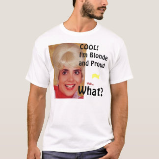 ブロンドのワイシャツ Tシャツ