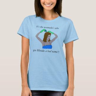 ブロンドの真実 Tシャツ