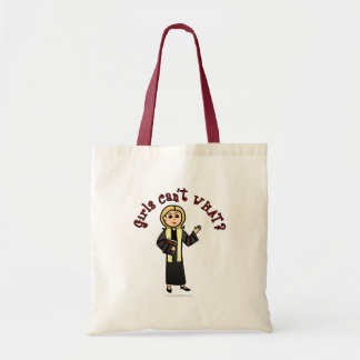 ブロンドの説教者の女の子 トートバッグ