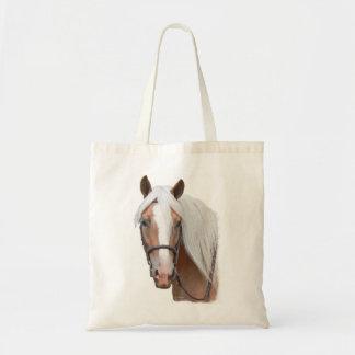 ブロンドの馬 トートバッグ