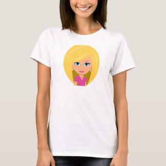 ブロンドのTシャツ Tシャツ