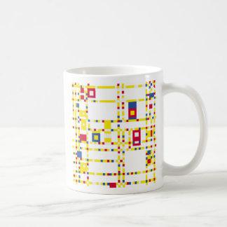 ブロードウェイのブギウギのWoogieのマグ コーヒーマグカップ