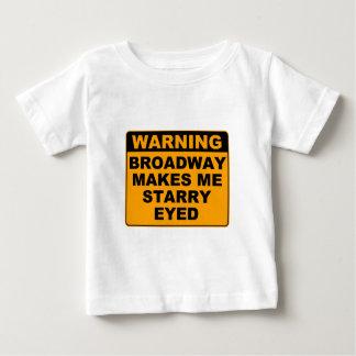 ブロードウェイのベビー ベビーTシャツ