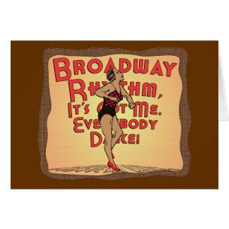 ブロードウェイのリズム カード