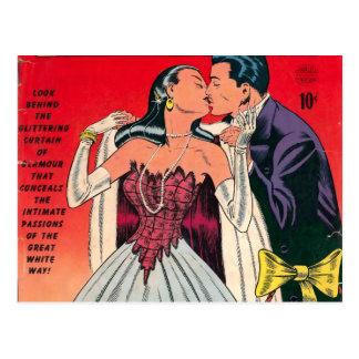 ブロードウェイのロマンスの漫画本 ポストカード