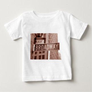 ブロードウェイの印 ベビーTシャツ