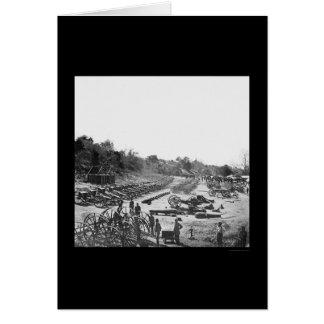 ブロードウェイの着陸、VA 1865年の中央政府兵器 カード