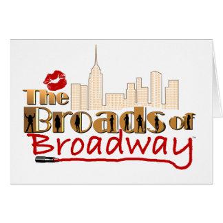 ブロードウェイのBROADS カード