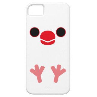 ブンチョウ(白い) iPhone SE/5/5s ケース