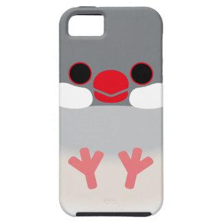 ブンチョウ(銀) iPhone SE/5/5s ケース