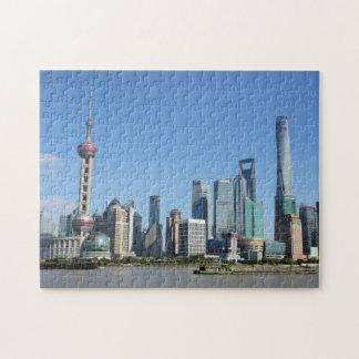 ブンドのパズルからの上海 ジグソーパズル