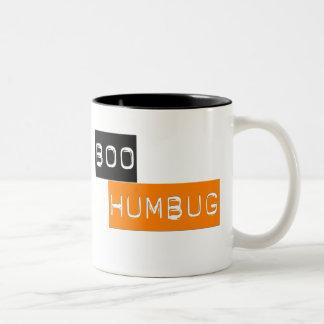 ブーイングのばかばかしい反ハロウィンのマグ ツートーンマグカップ