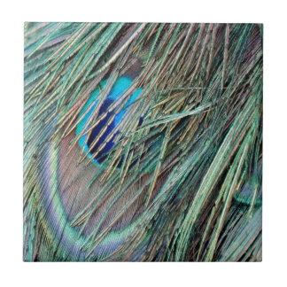 ブーイングの孔雀の羽をかいま見て下さい タイル