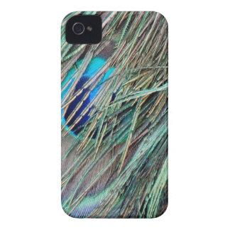 ブーイングの孔雀の羽をかいま見て下さい Case-Mate iPhone 4 ケース