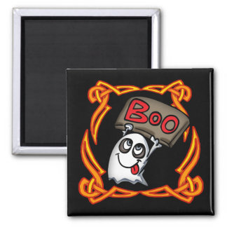 ブーイングの幽霊の円形の磁石 マグネット
