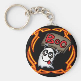 ブーイングの幽霊Keychain キーホルダー