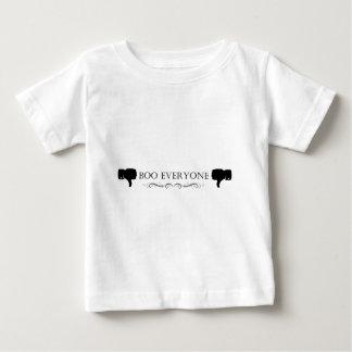 ブーイング皆 ベビーTシャツ