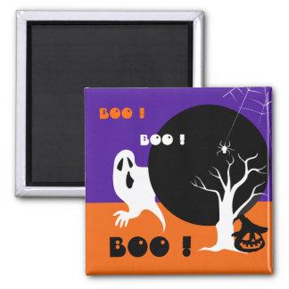 ブーイング! おもしろいな幽霊のハロウィンのギフトの磁石 マグネット