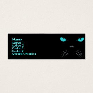 ブーイング-アクアマリンのプロフィールカード スキニー名刺
