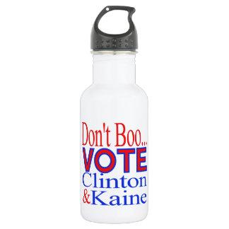 +ブーイング、投票、クリントン+kaine、kaine、ヒラリー+クリントン ウォーターボトル