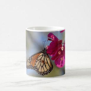 ブーゲンビリアのマダラチョウ コーヒーマグカップ