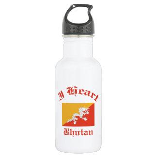 ブータンのデザイン ウォーターボトル