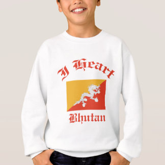 ブータンのデザイン スウェットシャツ