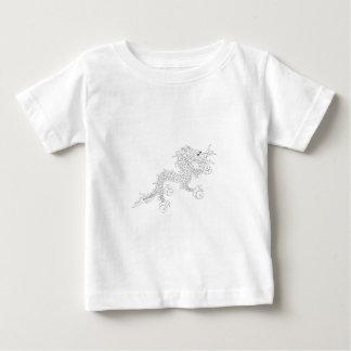 ブータンのドラゴン ベビーTシャツ