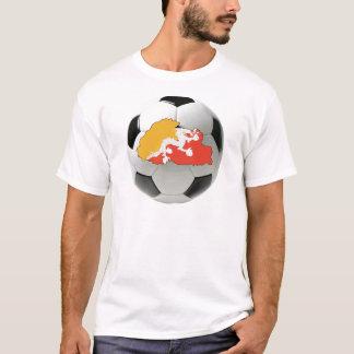 ブータンの全国代表チーム Tシャツ