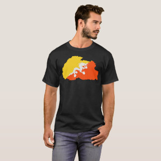 ブータンの国家のTシャツ Tシャツ