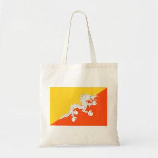 ブータンの国民の世界の旗 トートバッグ
